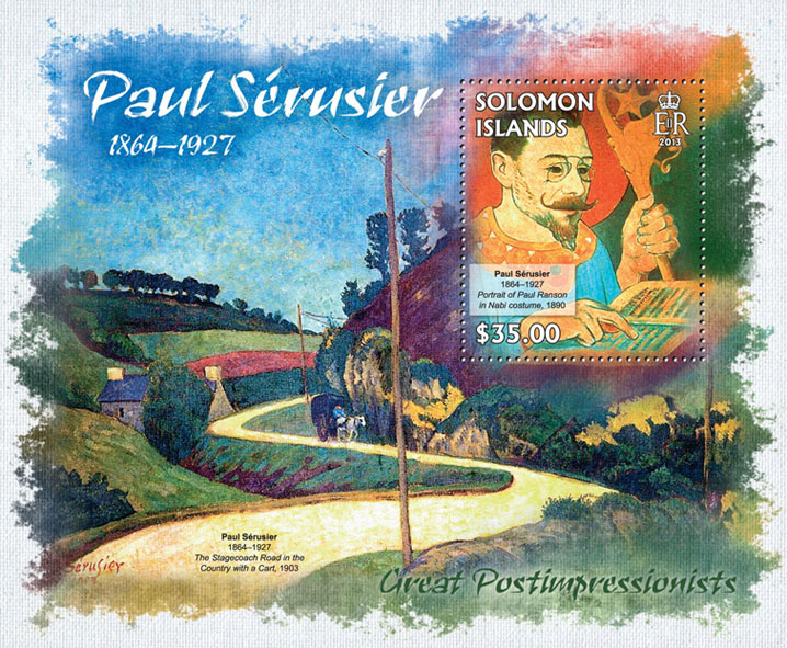 Paul Serusier - Issue of Solomon islands postage stamps
