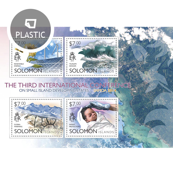 SIDS Conference - Issue of Solomon islands postage stamps