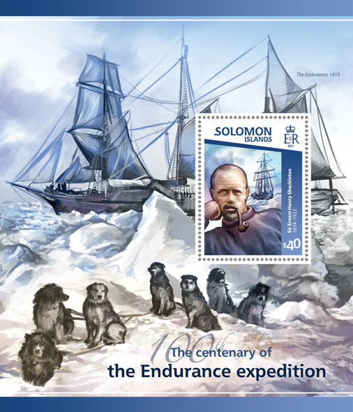 Endurance Expedition - Issue of Solomon islands postage stamps