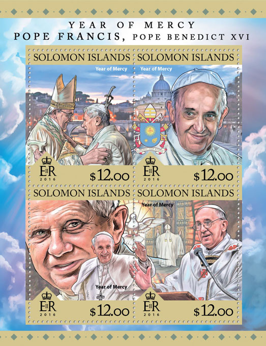 Year of Mercy - Issue of Solomon islands postage stamps